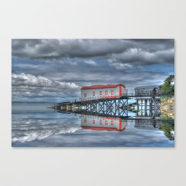 Reflections of Tenby 3 Canvas Print