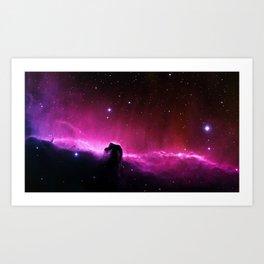 Horsehead Nebula Art Print