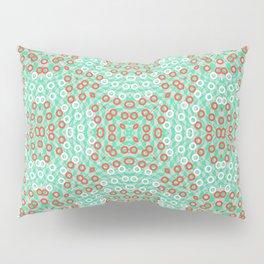 Kaleidoskope rings pattern Pillow Sham