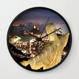 Christ the Redeemer ✝ Statue  Wall Clock