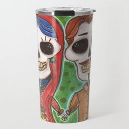 Te Amo Day of the Dead Travel Mug