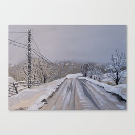The Last Dead End Road Canvas Print