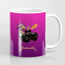 Zelda llinka - Purple Link Coffee Mug