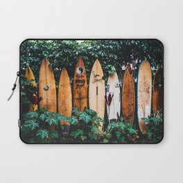 Surf Time II / Hanalei Bay, Hawaii Laptop Sleeve