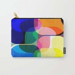 Multicolored abstractions Carry-All Pouch
