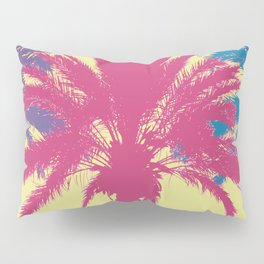 Tropical palm tree silhouettes Pillow Sham