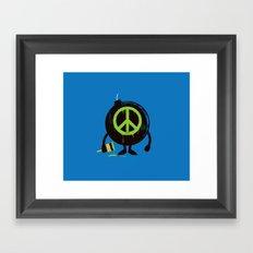 peace not war Framed Art Print