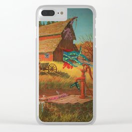 Wilbur Whateley's Twin Clear iPhone Case