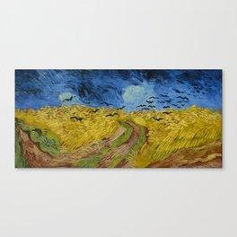 Vincent van Gogh - Wheatfield with Crows Canvas Print