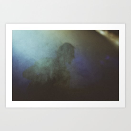 lost in the fog Art Print