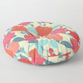 Rose Garden - Light Floor Pillow