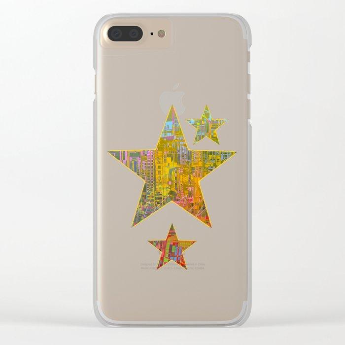 Summer / GALACTIC PLEASURES Clear iPhone Case