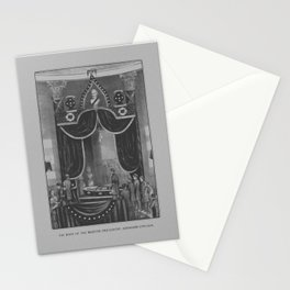 President Abraham Lincoln Lying In State Stationery Cards
