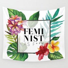 Feminist As F**k Wall Tapestry