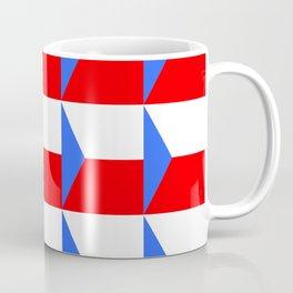 flag of Czech 3 -Czechia,Česko,Bohemia,Moravia, Silesia,Prague. Coffee Mug