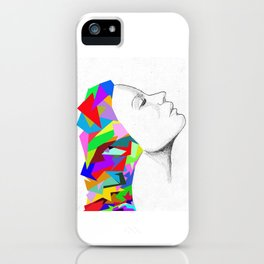 colorful mind iPhone Case