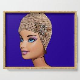 Charleston! Vintage Barbie Art Design! Serving Tray