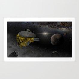 New Horizons space probe fly into Kuiper belt Art Print
