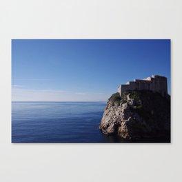 Island Fortress Canvas Print