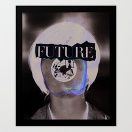 Wasn't The Future Wonderful? Art Print