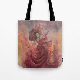 Elemental Witch - Fire Tote Bag