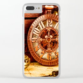 Old Timers Clear iPhone Case