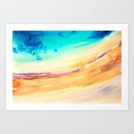 Seashore 1 Art Print