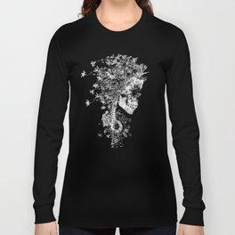 Skull BW Long Sleeve T-shirt