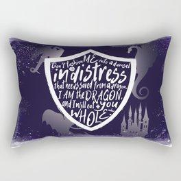 I am the Dragon Rectangular Pillow