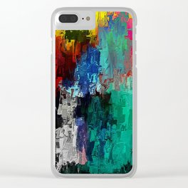 Voyage of Woman Clear iPhone Case