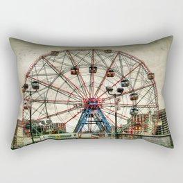 Coney Island Wonder Wheel Rectangular Pillow