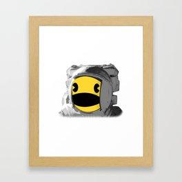 Pacstronaut Framed Art Print