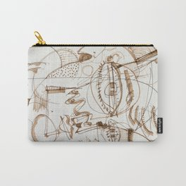 Boy And His Parrot Carry-All Pouch