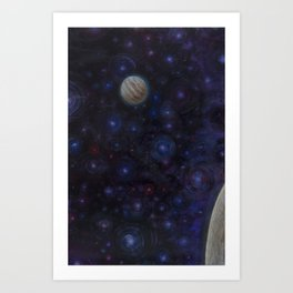 Five from Outside Art Print