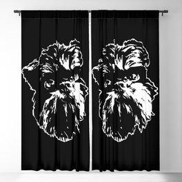 GRIFFON DOG Blackout Curtain