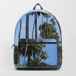 Tall California Palm Trees Photograph Backpack
