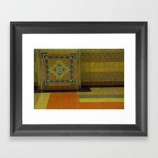union station, LA Framed Art Print