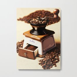 coffee grinder 4 Metal Print