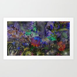 DARK DREAM of SUMMER Art Print