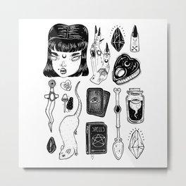 teen Witch Metal Print