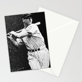 Lou Gehrig Stationery Cards