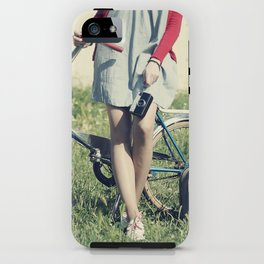 Vintage Biker iPhone Case