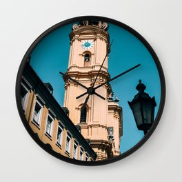 Tower Over You | Munich, Germany Wall Clock