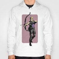 clint barton Hoodies featuring Clint by Shop 5