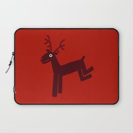 Reindeer-Red Laptop Sleeve