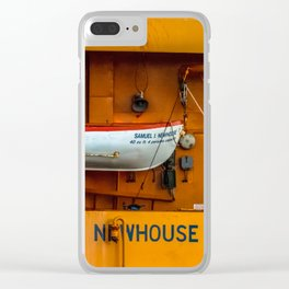The Ferry Boat Newhouse Clear iPhone Case