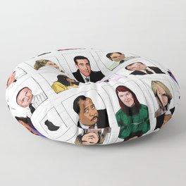 Scranton Coworkers Floor Pillow