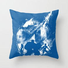 Fantastic 4ever Throw Pillow