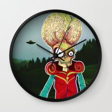 MARS ATTACKS LEADER Wall Clock