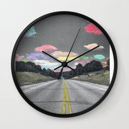 Road Trip (Square) Wall Clock